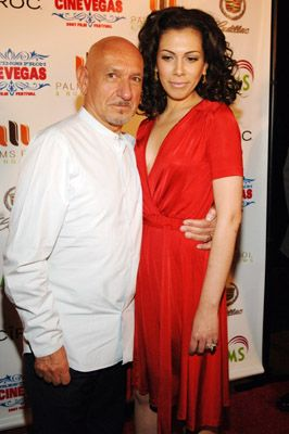 Ben Kingsley  and Daniela Lavender