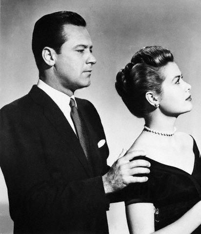 William Holden Grace Kelly and