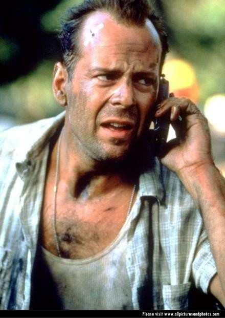 Bruce Willis  - Die Hard movies