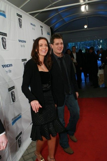 Michael Bublé Emily Blunt and Michael Buble