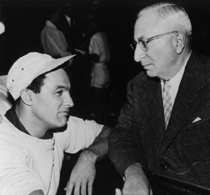 Gene Kelly Louis Mayer with