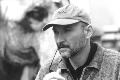 The Majestic Director Frank Darabont on the set of Castle Rock's  - 2001