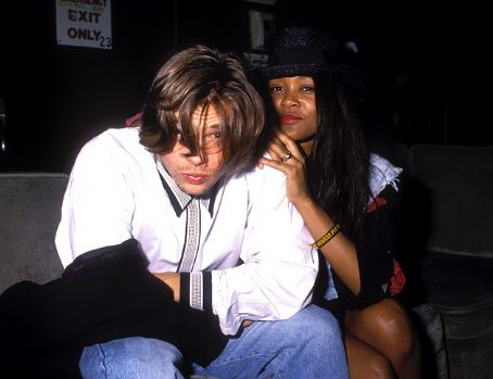 Robin Givens Brad Pitt and