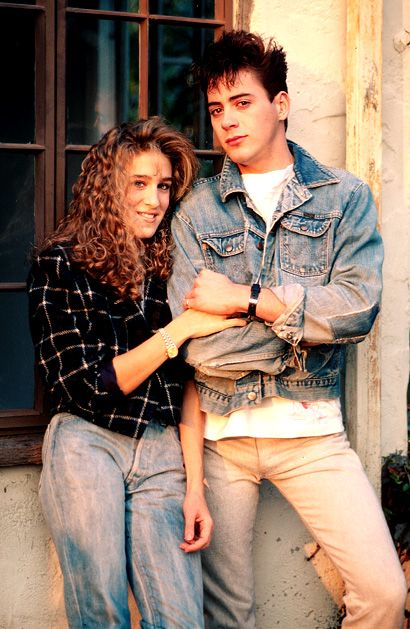 Robert Downey Jr. Robert Downey, Jr. and Sarah Jessica Parker