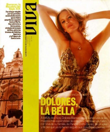 Dolores Barreiro - VIVA Magazine Cover [Argentina] (4 August 2004)