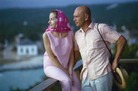 Yul Brynner  and Doris Kleiner