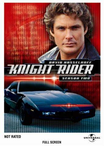 Knight Rider : Season 2 box art - 1982