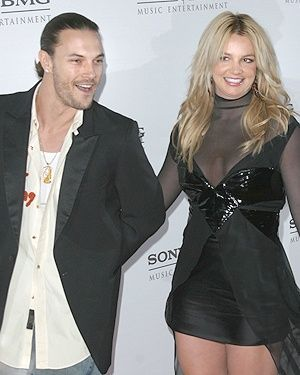 Kevin Federline Britney Spears and