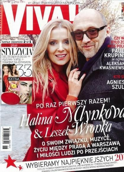 Halina Mlynkova, Leszek Wronka - VIVA Magazine Cover [Poland] (19 December 2013)