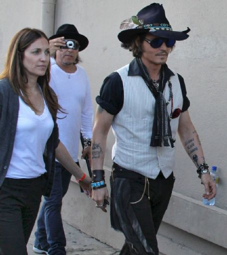 Robin Baum  and Johnny Depp 7