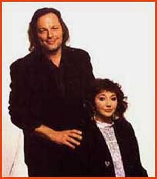 Kate Bush  and David Gilmour