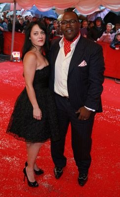 Randy Jackson  and Erika Riker