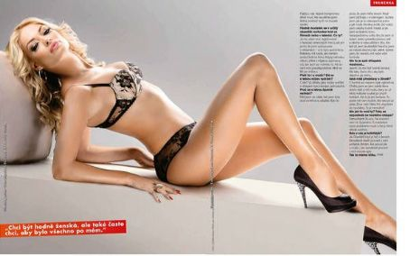 Valentina Pelinel FHM Czech August 2011