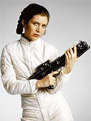 Princess Leia Carrie Fisher As  In Star Wars - The Empire Strikes Back (1980)