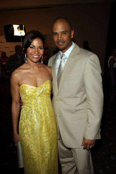 Salli Richardson-Whitfield Salli Richardson and Dondre Whitfield