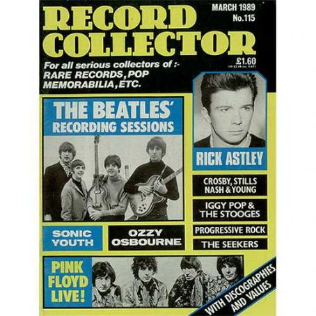 Paul McCartney - Record Collector Magazine [United Kingdom] (March 1989)