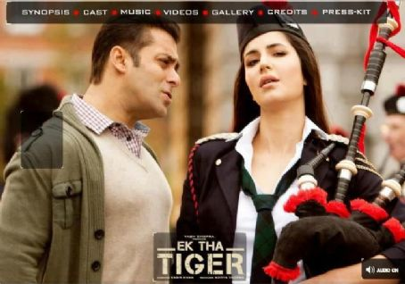 Salman Khan and Katrina Kaif new Pictures from Ek Tha Tiger 2012