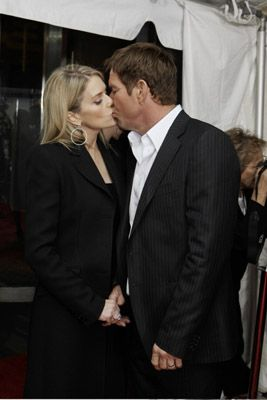 Dennis Quaid  and Kimberly Buffington