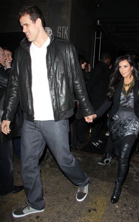 Kris Humphries Celebrating Humphries' birthday at STK in NYC (February 5).