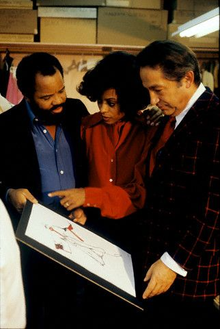 Berry Gordy Diana Ross and