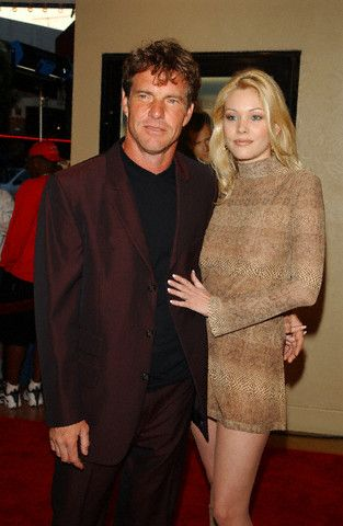 Dennis Quaid  and Shanna Moakler