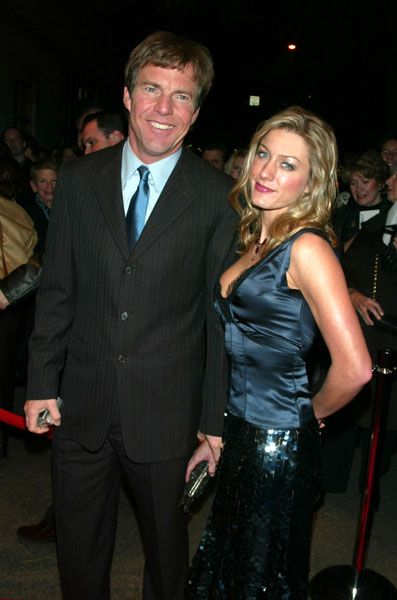 Dennis Quaid  and Anna Poche