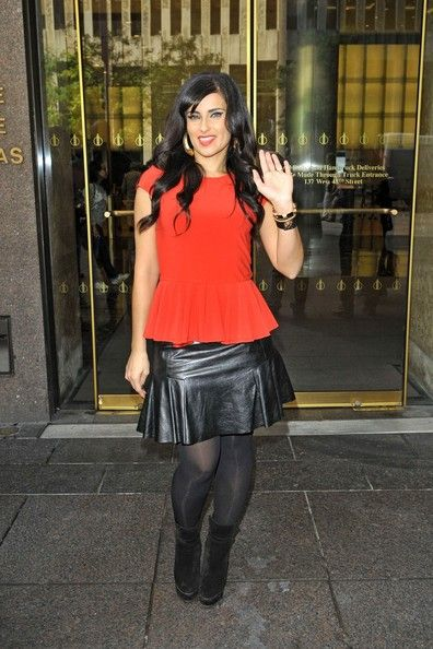 Nelly Furtado Outside the Sirius Studios