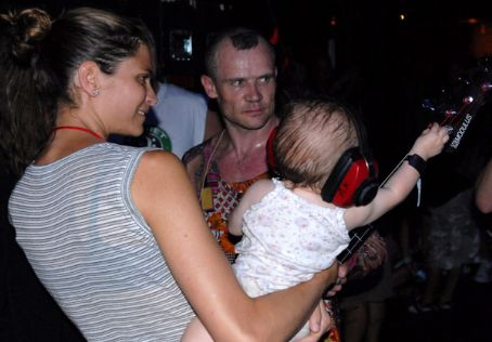 Frankie Rayder  and Michael (Flea) Balzary