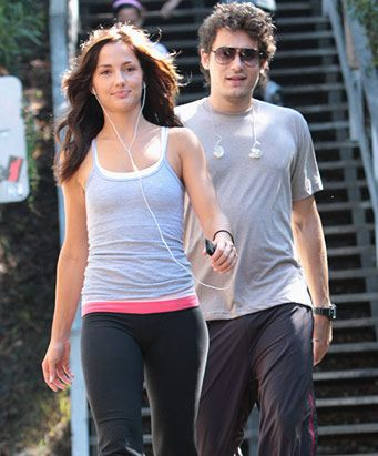 Minka Kelly  and John Mayer