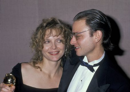 Fisher Stevens  and Michelle Pfeiffer