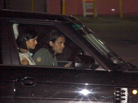 Katy Perry and John Mayer leaving Chateau Marmont (August 1)