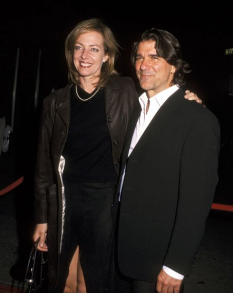 Allison Janney  and Dennis Gagomiros