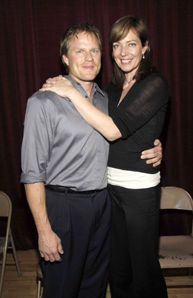 Allison Janney  and Richard Jenik
