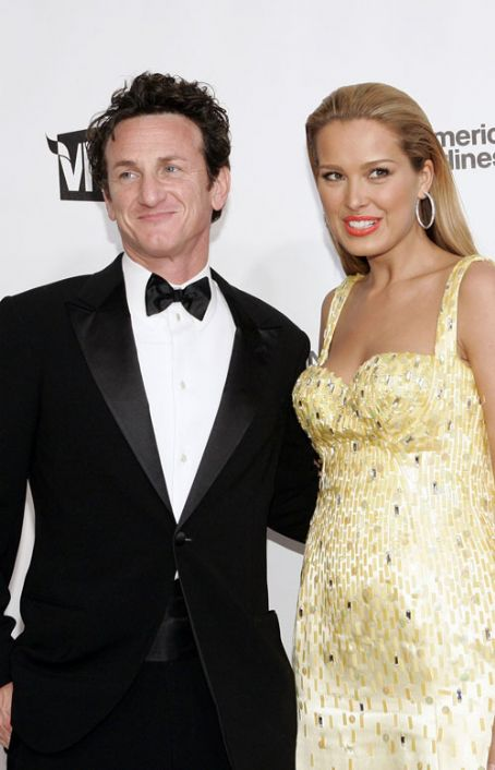 Sean Penn  and Petra Nemcova