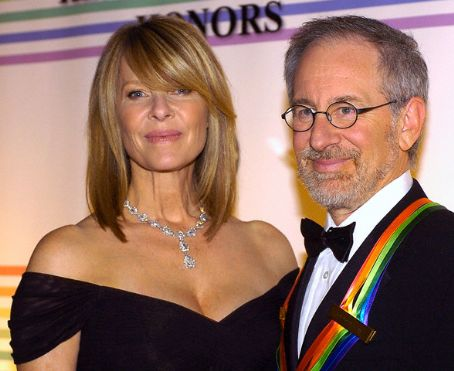 Steven Spielberg Kate Capshaw and