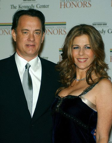 Tom Hanks Rita Wilson and