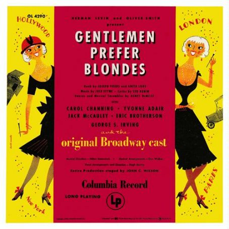 Thomas Z. Shepard - Gentlmen Prefer Blondes 1949 Starring Carol Channing