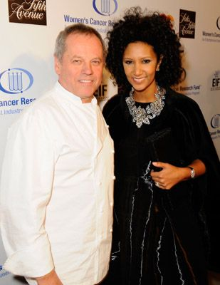 Wolfgang Puck  and Gelila Assefa