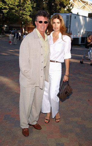 Alan Thicke  and Tanya Callau