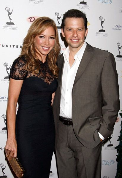 Jon Cryer  and Lisa Joyner