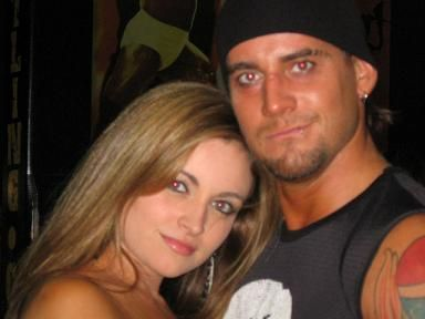 C.M. Punk Maria Kanellis and Phillip Brooks
