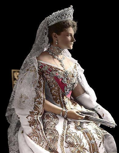 Tsarina Alexandra Empress Alexandra Feodorovna: 1905.