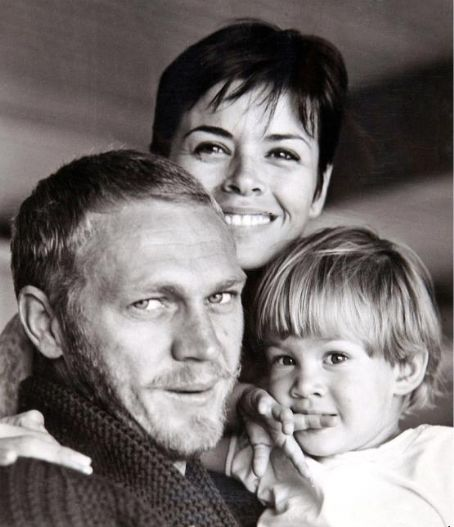 Neile Adams  and Steve McQueen