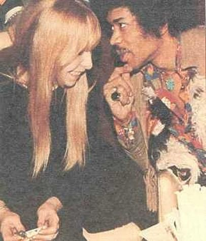 Monika Dannemann Jimi Hendrix and