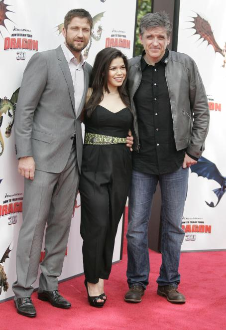 America Ferrera - 'How To Train Your Dragon' Los Angeles Premiere, Universal Cita, 21 March 2010