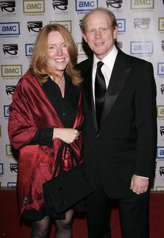 Ron Howard Cheryl Alley Howard and