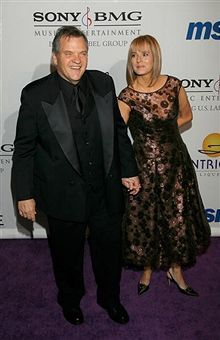 Leslie Edmonds Meat Loaf and wife Deborah