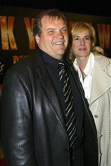 Meat Loaf  and wife Deborah