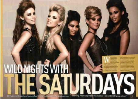 Francesca Sandford - The Saturdays Magazine scans and shoots