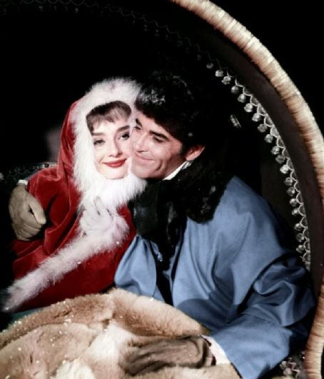 War and Peace Audrey Hepburn and Henry Fonda in  (1956)